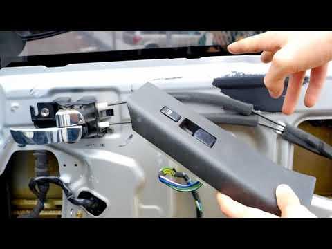 2005 thru 2012 Nissan Xterra & Frontier Power Window Motor Repair/Replace