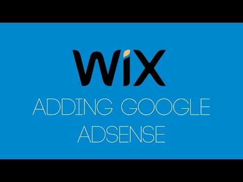 Adding Google Adsense To Your Wix Website - Wix com Tutorial - Wix My Website