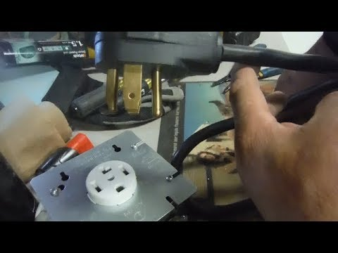 Electrical Dryer power cord extension diy