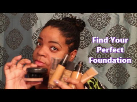 Beginners Makeup 101 | Tips on How to Find YOUR Perfect Foundation | For ALL Skintypes