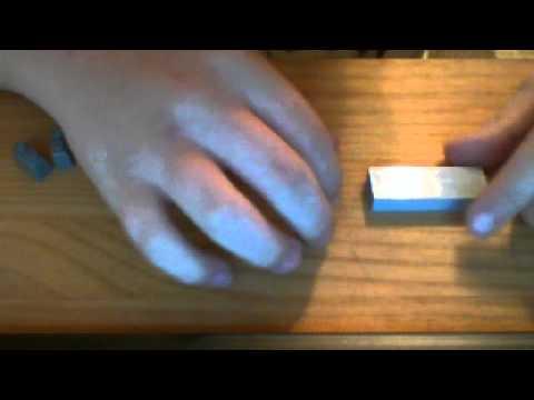 how to make a small LEGO double barrel shotgun
