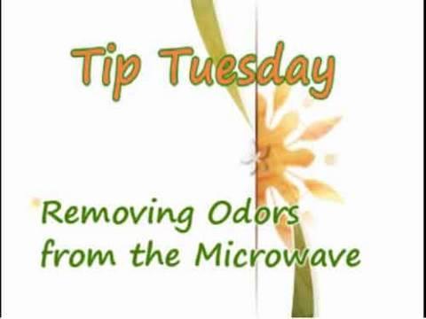 Remove Microwave Odor - Household Tips