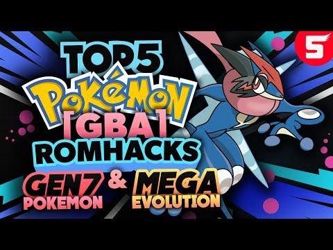 Top 5 Pokemon GBA Rom Hacks With Mega Evolution, GEN7, Ultra Beasts & Alola Forms (BEST) (2018)