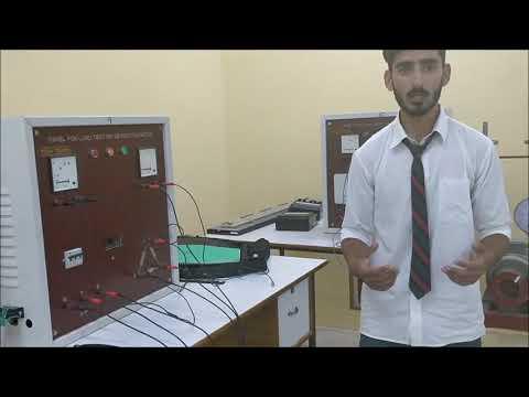 Speed Control of Three Phase Induction Motor | EREE | SOET | BGSBU