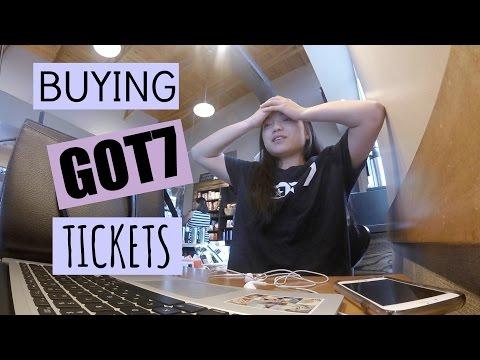 Buying GOT7 Tickets!!!