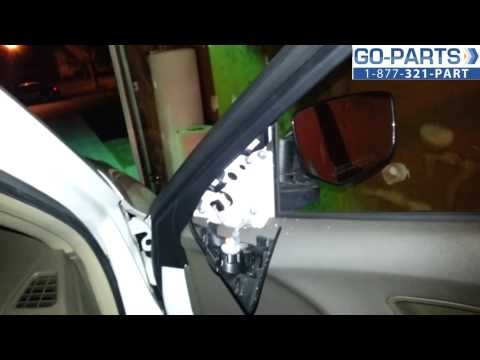 Replace 2008-2010 Honda Accord Side Mirror, How to Change Install 2009 HO1321227 76208-TE0-A01