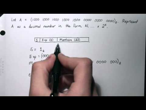 HOW TO: Convert IEEE-754 Single-Precision Binary to Decimal