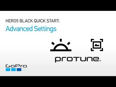 GoPro: HERO5 and HERO6 Black Quick Start - Advanced Settings