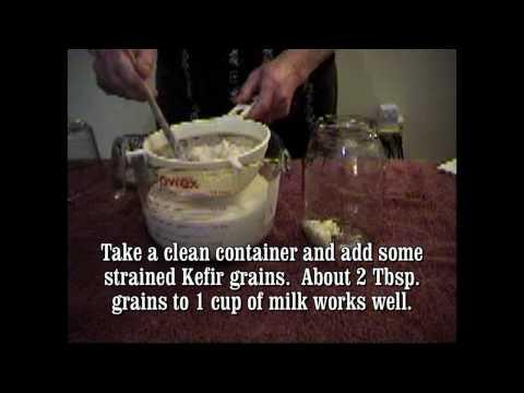 How to Make Kefir Milk