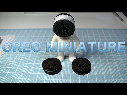 oreo miniature resin DIY フェイクスイーツ オレオ製作記 スイーツデコ