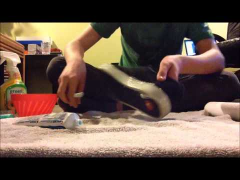 How to clean your shoes with household items
