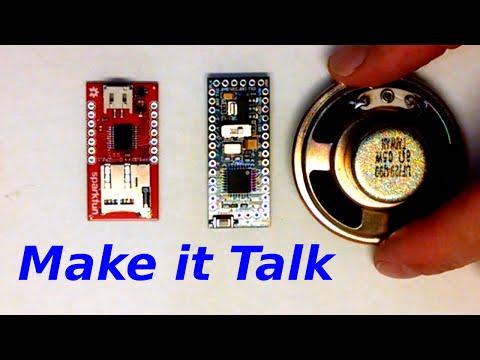 How to Make Things Talk - Arduino plus Sound Module WTV020SD