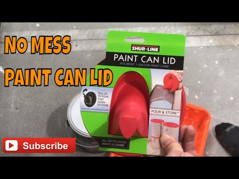 How To Pour Paint Without Making a Mess - Product Review