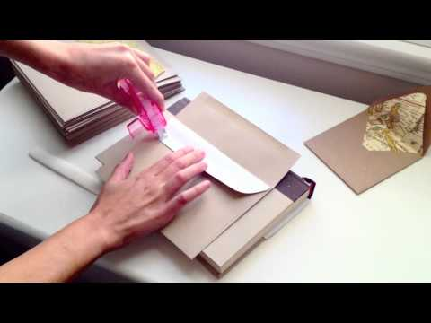 Simple DIY Envelope Liners: How to line your own envelopes. The Persian Laundry