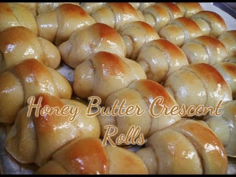 Honey Butter Crescent Roll Recipe | HOW TO MAKE CRESCENT ROLLS | Kiwanna's Kitchen