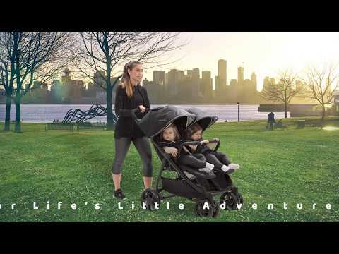 J is For Jeep® Brand Destination Side x Side Double Ultralight Stroller