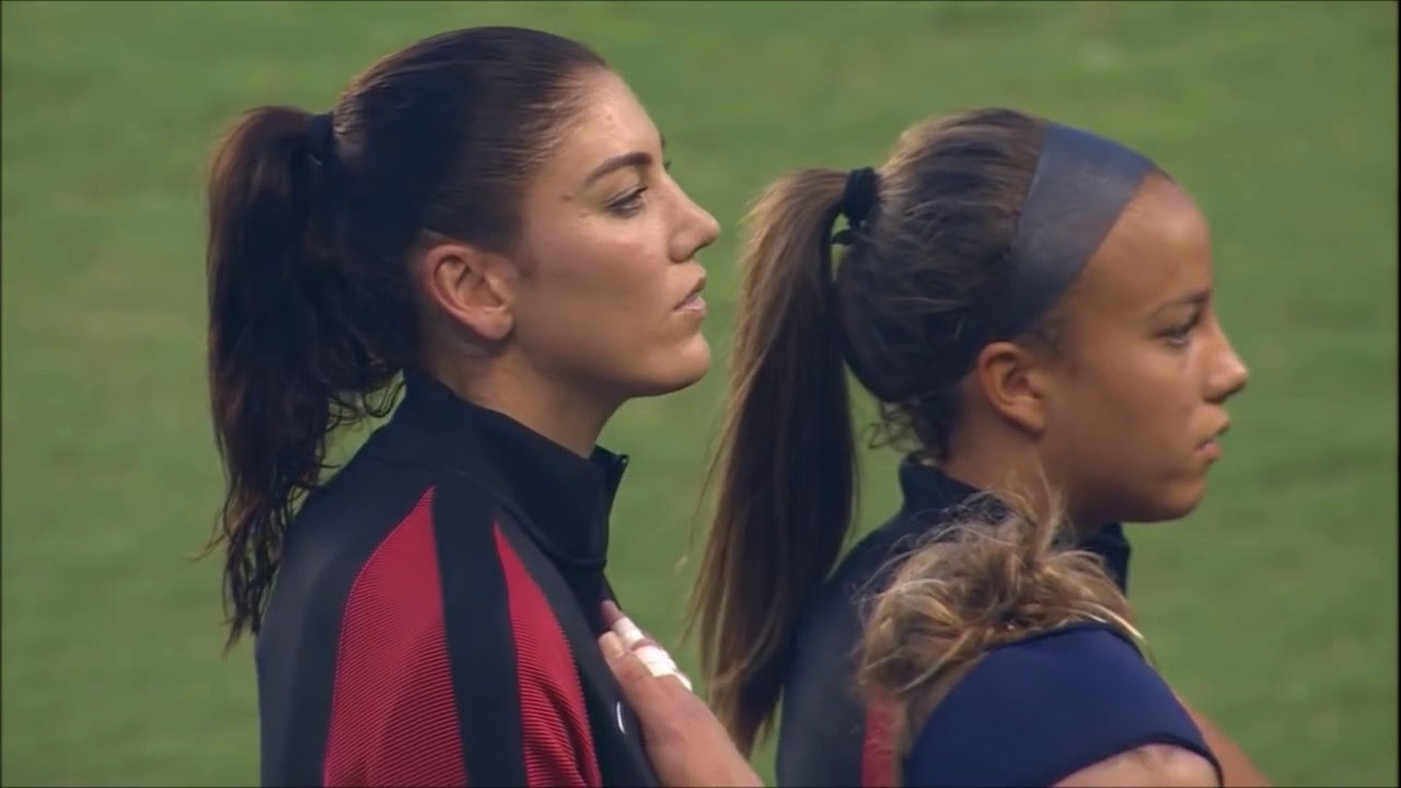 USWNT vs. Costa Rica (Final Game before the Rio Olympics)