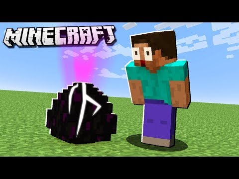 How to HATCH THE ENDER DRAGON EGG in Minecraft!