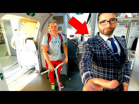 ANGRY FLIGHT ATTENDANT TAKES MY CAMERA!