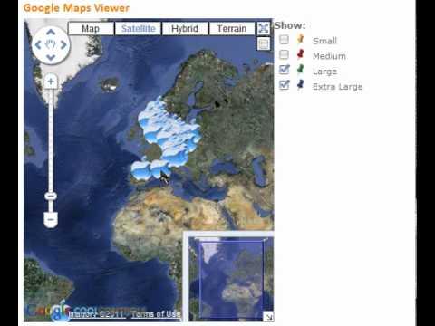 Google Maps Viewer ASP.NET Server Control