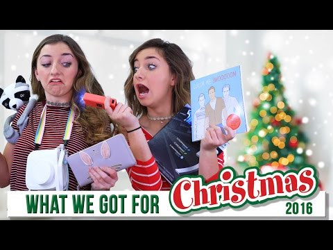 WHAT I GOT FOR CHRISTMAS 2016  | Brooklyn and Bailey