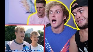 LOGAN PAUL REACTS TO THE JAKE PAUL HATE!