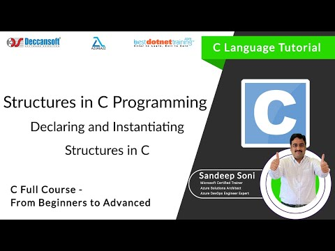 Declaring and Instantiating Structures in C Programming