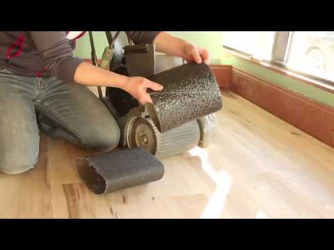 Choosing the right grit to start sanding your floor