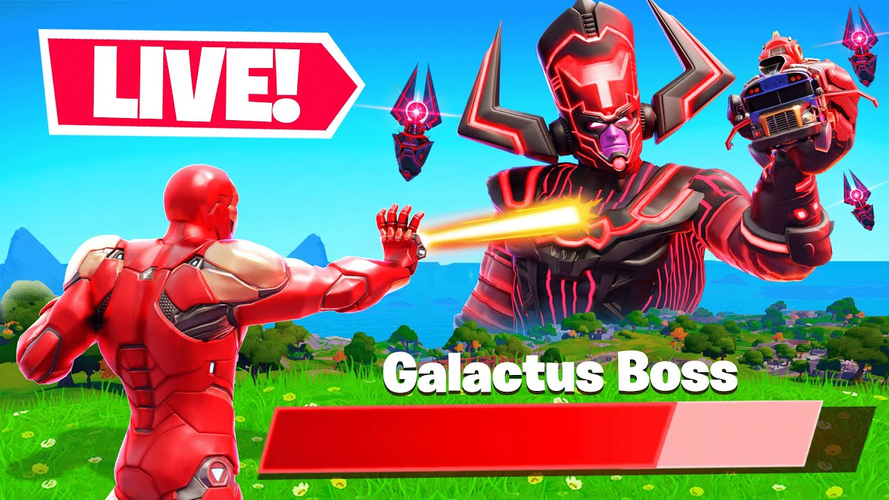 The PS5 GALACTUS EVENT in Fortnite! (End of the World)