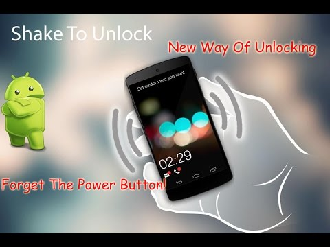 Shake To Unlock Your Android Device! | NO ROOT REQUIRED