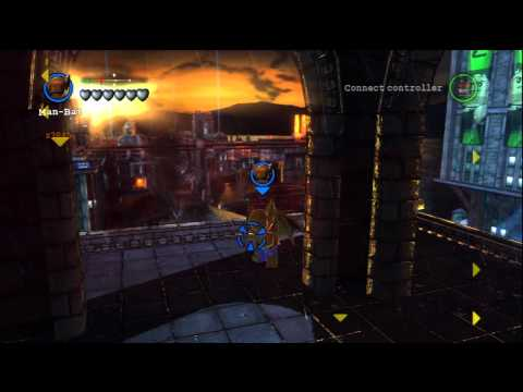 LEGO Batman 2: DC Super Heroes - Man-Bat Gameplay and Unlock Location