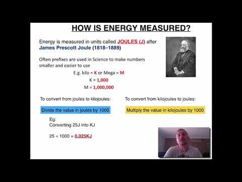 Measuring Energy