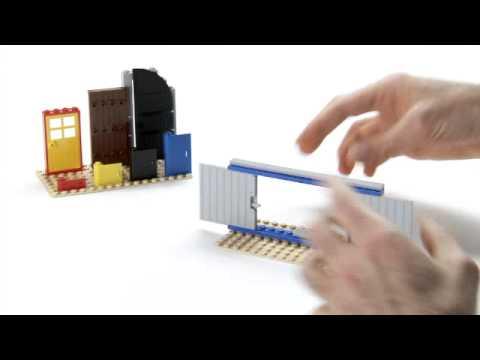 How to build sliding doors - LEGO Creator - Designer Tips