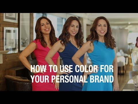 Personal Branding: How To Use Color For Your Personal Brand