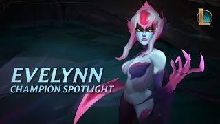 Champion Spotlight: Evelynn | Gameplay – League of Legends