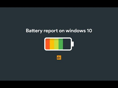 How to check the Health of Laptop Battery - Windows 10 Tips 2017