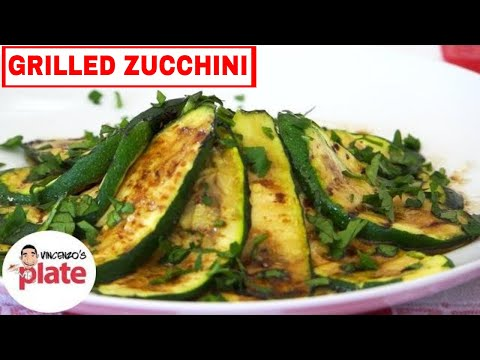 Italian Grilled Zucchini Recipe | How to Grill Zucchini