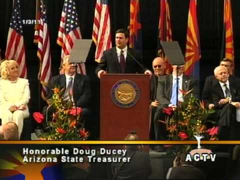 Treasurer Ducey's Inauguration Address