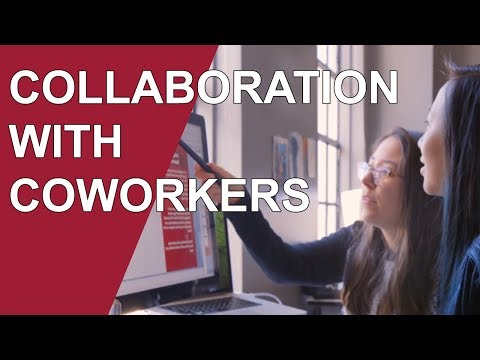 Collaboration with Coworkers: An Essential Part of Working Happy