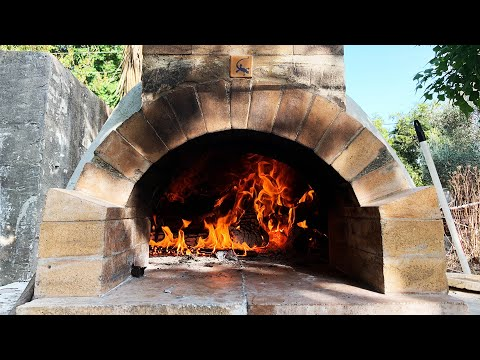 How to Build a wood fired pizza oven 2016