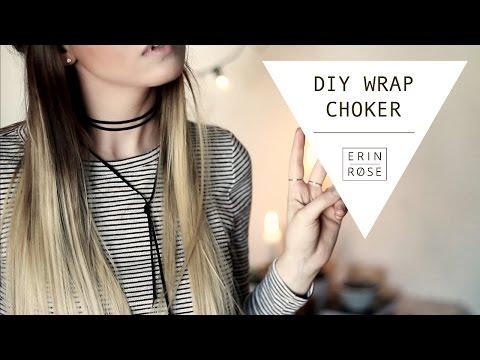 DIY Wrap Choker | Erin Rose