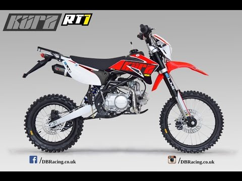 2017 KURZ RT1 125 road legal pit bike - Customers First Ride Out - Created by Foolmoto