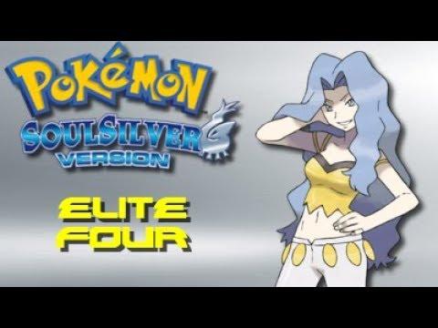 Pokemon Soul Silver: Elite Four