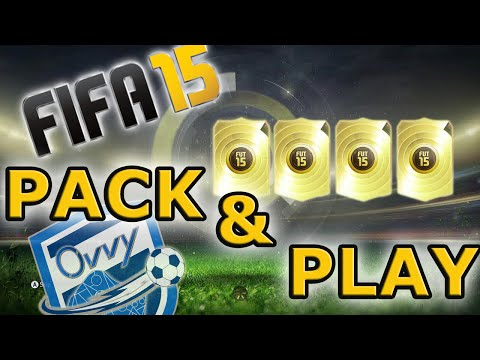 FIFA 15 FUT Pack & Play Squad Builder with 90 Rated Player / Ultimate Team