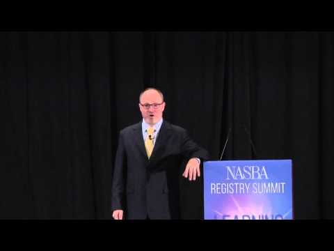 Jonathan Halls Snippet 3 - 2015 National Registry Summit