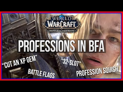 Battle for Azeroth Profession Review - WoW Patch Notes 8.0