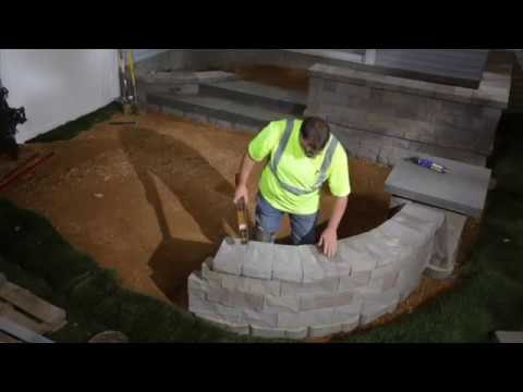 How to Install a Curved Freestanding Wall