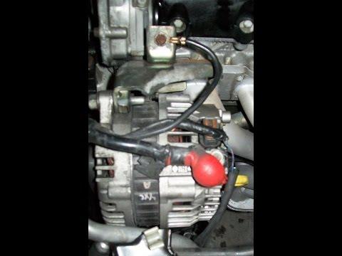 Nissan Sentra 02-06 Alternator removal BEST Way