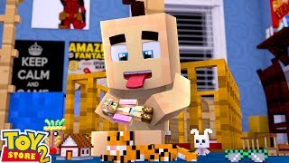 A BABY EATS LITTLE KELLY DOLL!| Minecraft Toystore