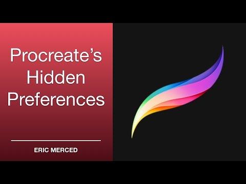 Procreate 01: Hidden Preferences